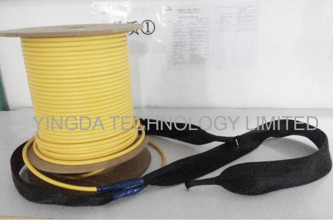 8 / 12 Core Pre -Terminated Fiber Optic Patch Cord Truck Cable Assembly With Pulling Eye