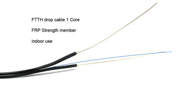 ftth patch cord   drop cable  sc    apc   apc simplex