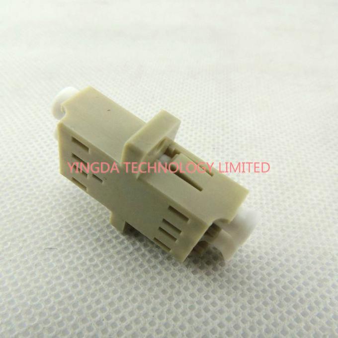 LC Multimode Fiber Optic Adapter Coupler Duplex Ceramic