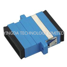 ST , SC , MT-RJ- or LC - type Fiber Optic Adapter , Standard Square Connector