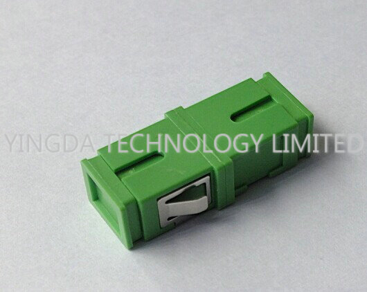 Fiber Optic Flange Adapter SC APC