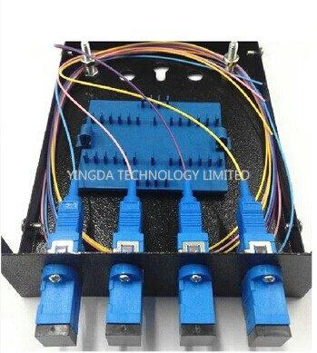 Sc Lc Fiber Optic Termination Box 4 Port
