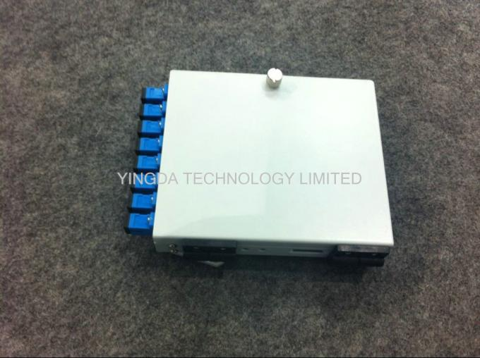 8 Core SC ST Adapter Fiber Optic Cable Junction Box, Cold Rolled Steel 8 Fibers PON Fiber Splice Box