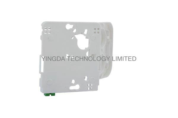 FTTH Fiber Optic Terminal Box LC Duplex Connectors With Transparent Cover