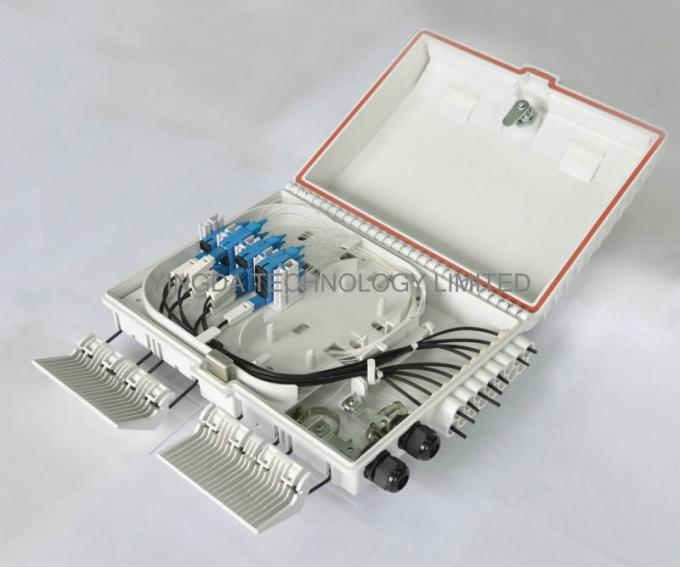Plc Splitter Ftth Drop Cable Fiber Optic Termination Panel