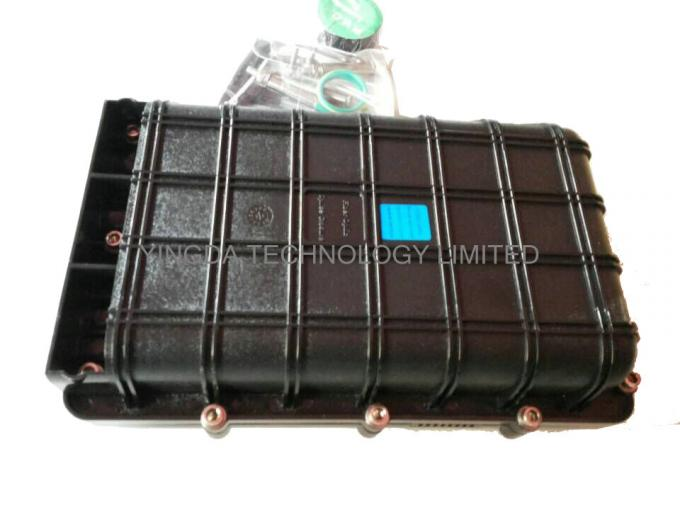 Aerial Fiber Optic Cable Joint Box 1 x 2 Bare PLC Splitter For Bunchy Fibers 8 Cores