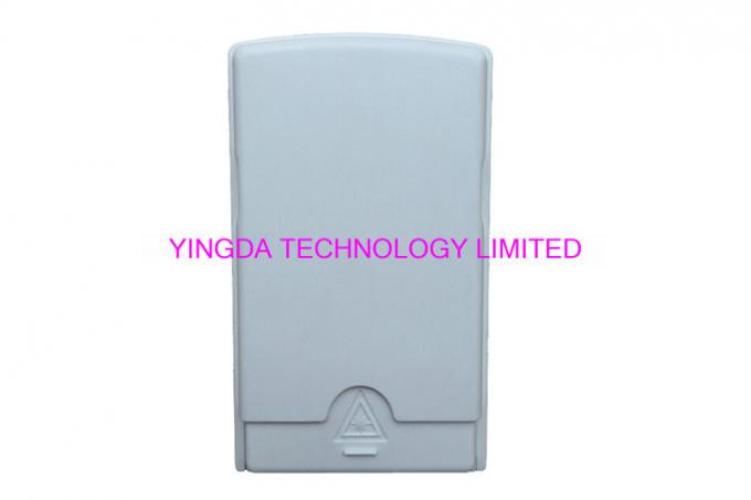 Fiber Terminal Access Box For FTTH Wall Outlet , Wall Mount 2 Port SC Adapters Flame Retardant