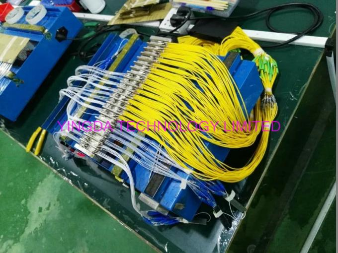 1:8 Fiber Pon Splitter Steel Tube Blockless Mini Module 900um,1x8 Optical splitter 1Meter