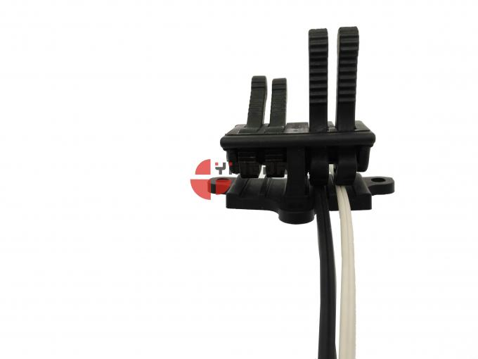 FTTH Field Installable Connector Fiber Optic Drop Cable Wall Mount Kits