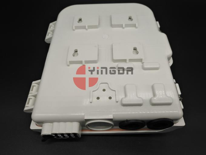 FTTH NAP Outdoor Wall Mount 8 Ports Fiber Optic Splitter Acess Terminal Box