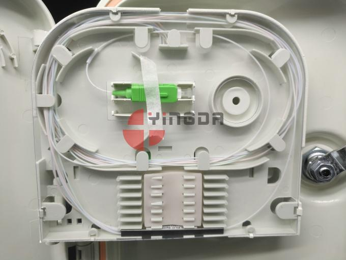 1*8 ABS Plastic FTTH Drop Cable Fiber Optic Splitter Distribution Termination Box