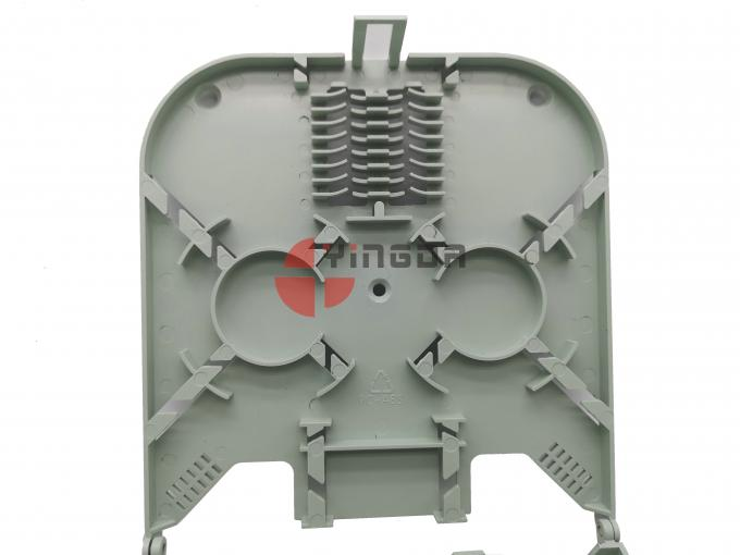 IP65 Exterior NAP BOX 16 Ports Outdoor Fiber Optic Termination Box for 2 Pcs 1:8 Spitter