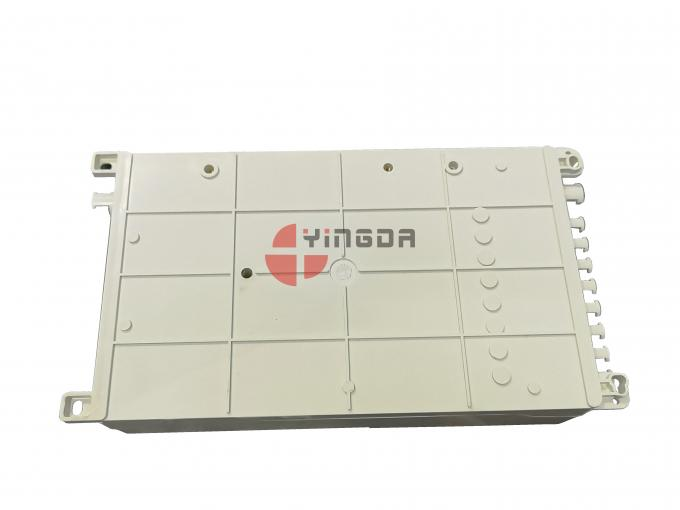 Indoor White FTTH Fiber Optic Distribubtion Box Mini Compact 8 Cores SC Adapter