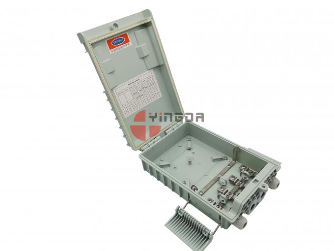 Exterior NAP BOX Fibre Optic Cable Termination Boxes 16 Ports IP65 ISO ROHS Approval