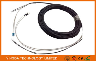 China DFC - DLC 2 Core FTTA Fiber Optic Patch Cord White And Black supplier