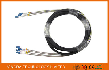 China DLC 4 Core Fiber Optic Cable Assembly Outdoor Waterproof FTTA Base Sation supplier