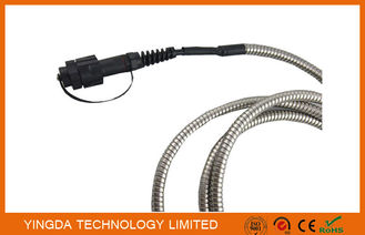 China IP67 LTE FTTA Outdoor Rugged LC Fiber Optic Patch Cord Duplex ODVA 2 Core supplier