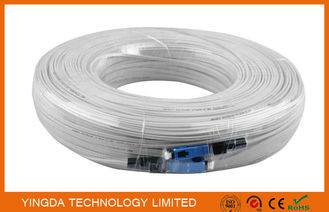 China 150M Fibre Patch Leads In FTTH Network Patch Cord  Indoor Wiring LSZH Sheath GJXFH supplier