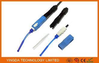 China FTTH FIC SC Fusion Splice-on Connector, SC /  PC Field Installable Connector factory