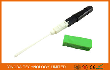 China SC / APC Fusion Splice - On FIC Field Installable Connector SC 0.9mm factory