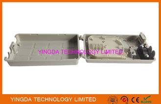 China 12 Cores FTTH Mini Fiber Optic Termination Box For Cable Fusion Splicing factory