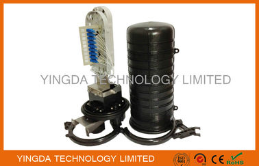 China Dome Mechanical Fiber Optic Cable Junction Box 48 Cores 510 * 218mm Dimension supplier
