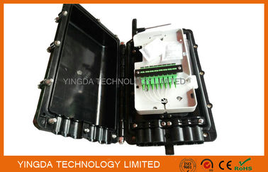 China Aerial Fiber Optic Cable Joint Box 1 x 2 Bare PLC Splitter For Bunchy Fibers 8 Cores supplier
