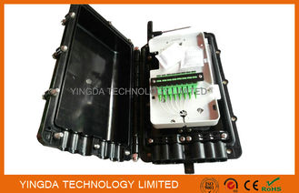 China Aerial Fiber Optic Cable Joint Box 1 x 2 Bare PLC Splitter For Bunchy Fibers 8 Cores factory