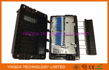 China Wall Mounting Fiber Optic Enclosure FTTH GPON Mechanical Sealing With SC Adapters supplier