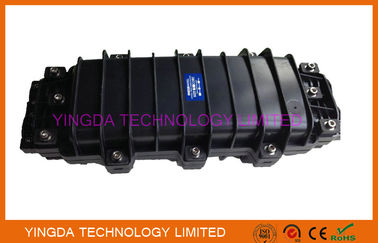 China Black Fiber Optic Joint Closure 24 Fiber Splice Tray For Manhole / Underground factory