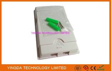 China Fiber Optic Junction Box FTB102H Wall Mounting Socket Panel SC Adapter Simplex factory