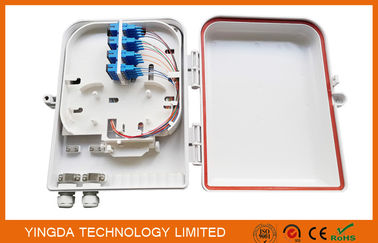 China IP65 Waterproof Fiber Optic Splice Box for FTTH PLC Splitter and SC Connectors Pole Mounted factory