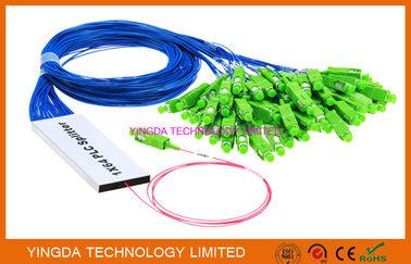 China 1/16 Fiber Optic PLC Splitter Ribbon Broadband FTTH Splitter Coupler 1 x 16 factory