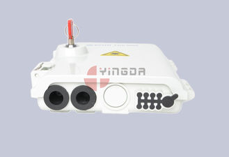 China 8Port PlasticFiber Optic Splitter Box / 1x8 Passive Splitter Distribution Box factory