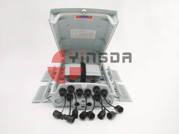 China 96 Cores Outdoor FTTH Fiber Optic Cable Junction Box with Reinforced SC Connector supplier