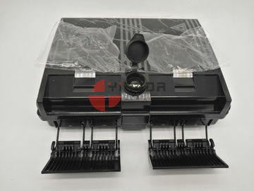 China Black Fiber Optic Splitter Box 2 In 16 Out Optical Splitter Termination Box supplier