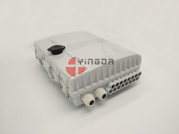 China IP65 Outdoor Waterproof Optical Fiber Splitter Distribution Box Pole Mounted factory