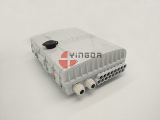 China IP65 Outdoor Waterproof Optical Fiber Splitter Distribution Box Pole Mounted supplier