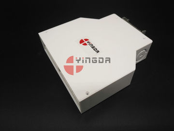 China White Indoor Fiber Optic DIN Terminal Box , Plastic Termination Box 12 Cores supplier