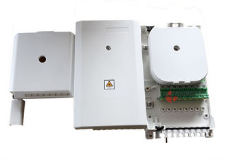 China FTTH 8 Port Uncut Cable Fiber Optic Termination Box IP54 For 1/8 Plc Splitter Completed supplier