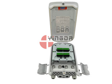 China ISO FTTH Nap Splitter Fiber Optic Distribution Box 16 Cores Outdoor SC Connectorized factory