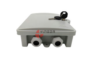 China FDB Fiber Optic Cable Termination Box 2 Cores PC ABS Outdoor Wall Mounted factory