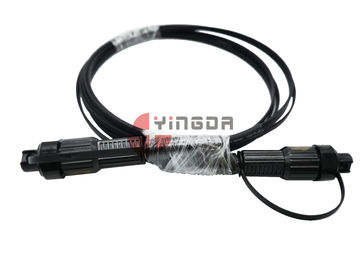 China LSZH FTTH Patch Cord Mini SC Waterproof Reinforced Connectors With Flip Top Cover supplier