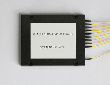 China 1100G 8CH DWDM MODULE (Dense Wavelength Division Multiplexing) DEMUX / MUX FC/UPC factory