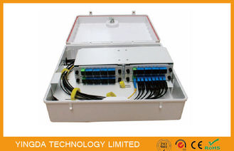 China Mini 1 / 32 PLC Fiber Optic Splitter Box For FTTX ODN PON Network GPDB-S32D supplier