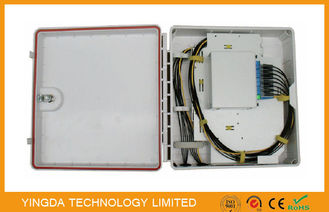 China Dust - proof 16 Port Optical Splitter Distribution Box Lgx Module Insert - Style factory