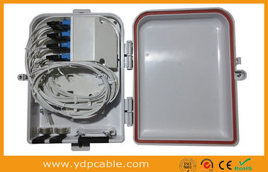 China Dual Layer Fiber Optic Splitter Box For PLC Splitter 1x16 LGX Modular / Cable Distribution Box factory