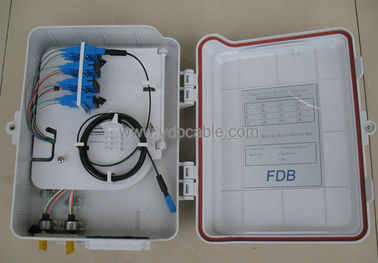 China 16 Core SC Outdoor Optical Splitter Distribution Box For Telecom FDB0216B factory