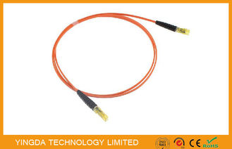 China OM2  MPO MTP Fiber Cable MT - MT Patch Cords For QSFP + AOC Modules factory