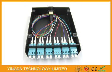China 24 Fiber SC FC ST LC MPO / MTP Cassette Modules For Patch Panel Distribution supplier